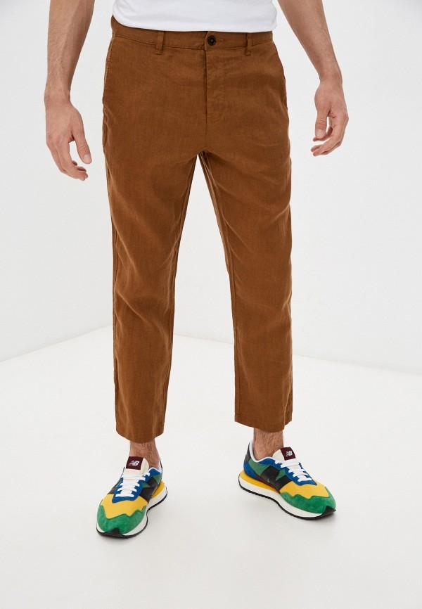 мужские брюки united colors of benetton, коричневые