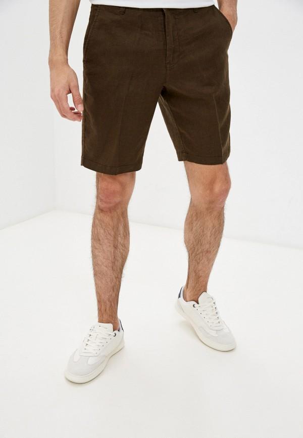 мужские шорты united colors of benetton, коричневые