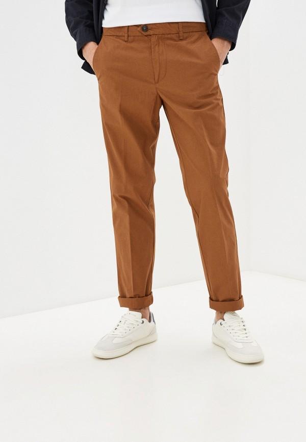 мужские брюки чинос united colors of benetton, коричневые