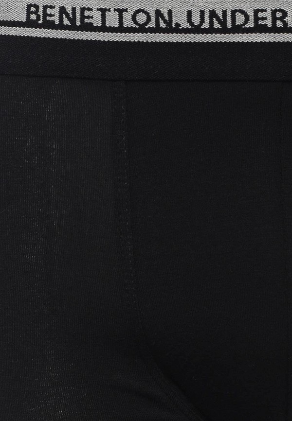 Фото 6 - мужские трусы United Colors of Benetton черного цвета