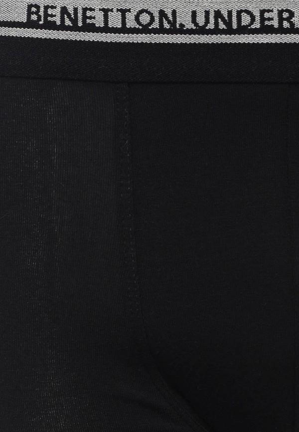 Фото 8 - мужские трусы United Colors of Benetton черного цвета