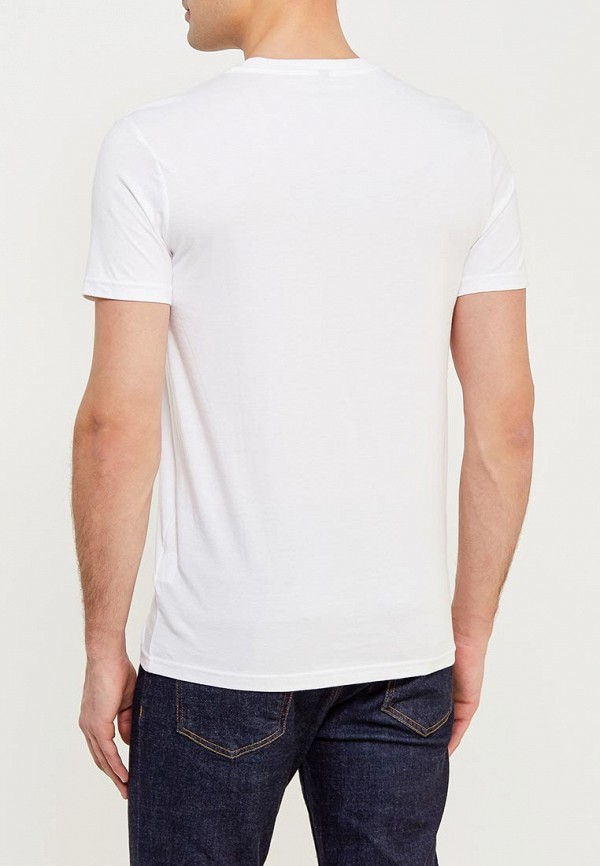 Фото 3 - мужскую футболку United Colors of Benetton белого цвета