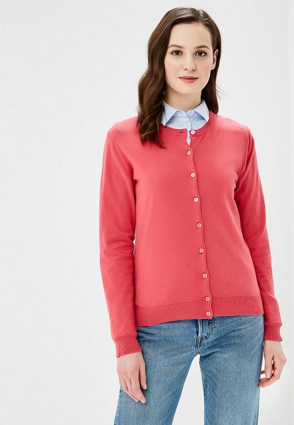 женский кардиган united colors of benetton, розовый