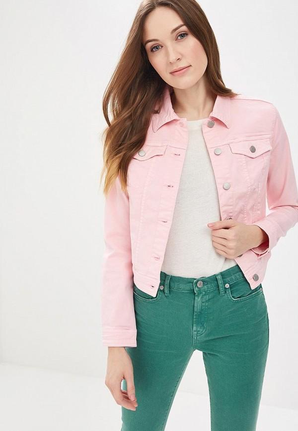 Купить Куртка джинсовая United Colors of Benetton, un012ewabzh4, розовый, Весна-лето 2018