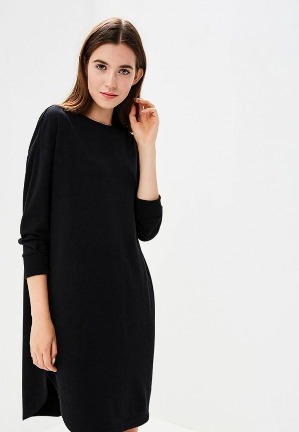 Купить Платье United Colors of Benetton, UN012EWBYJJ7, черный, Осень-зима 2018/2019