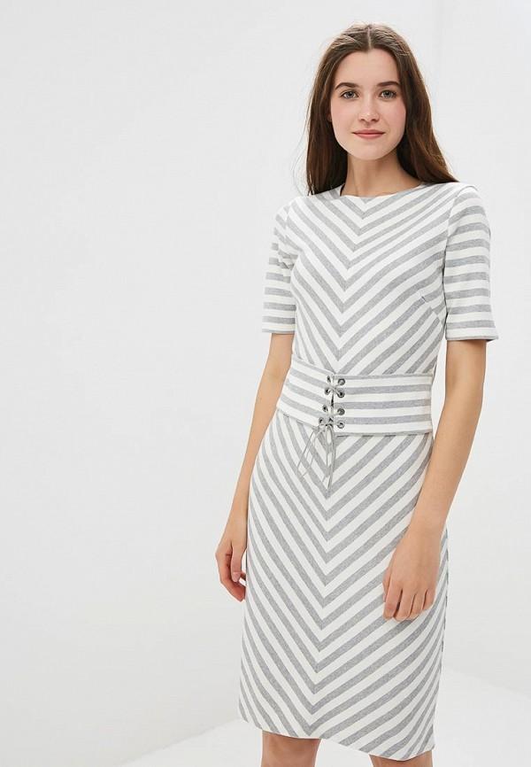 Купить Платье United Colors of Benetton, un012ewbykc9, серый, Осень-зима 2018/2019