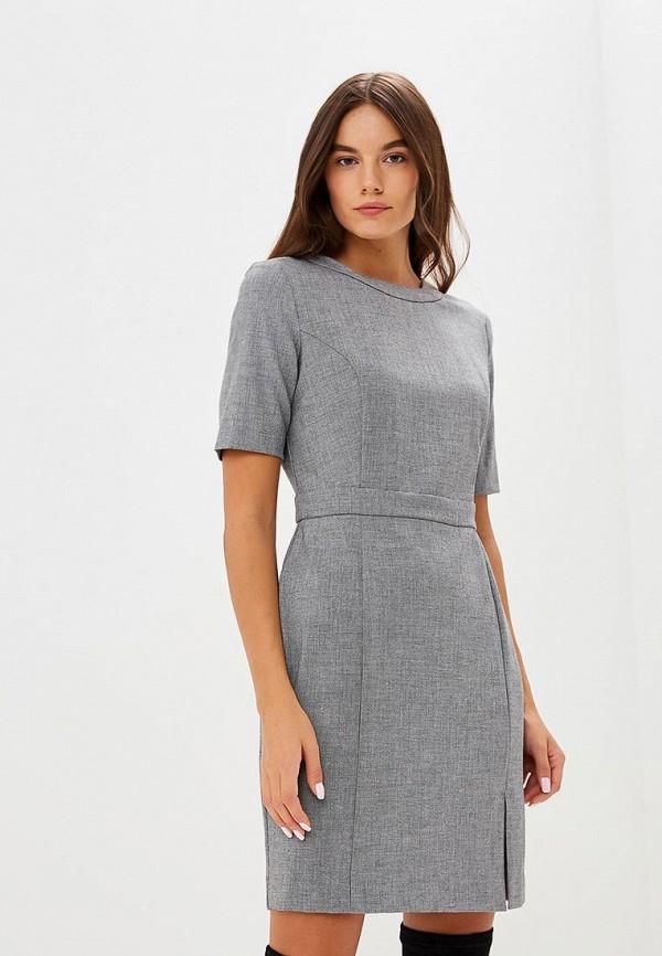 Купить Платье United Colors of Benetton, UN012EWBYLQ4, серый, Осень-зима 2018/2019