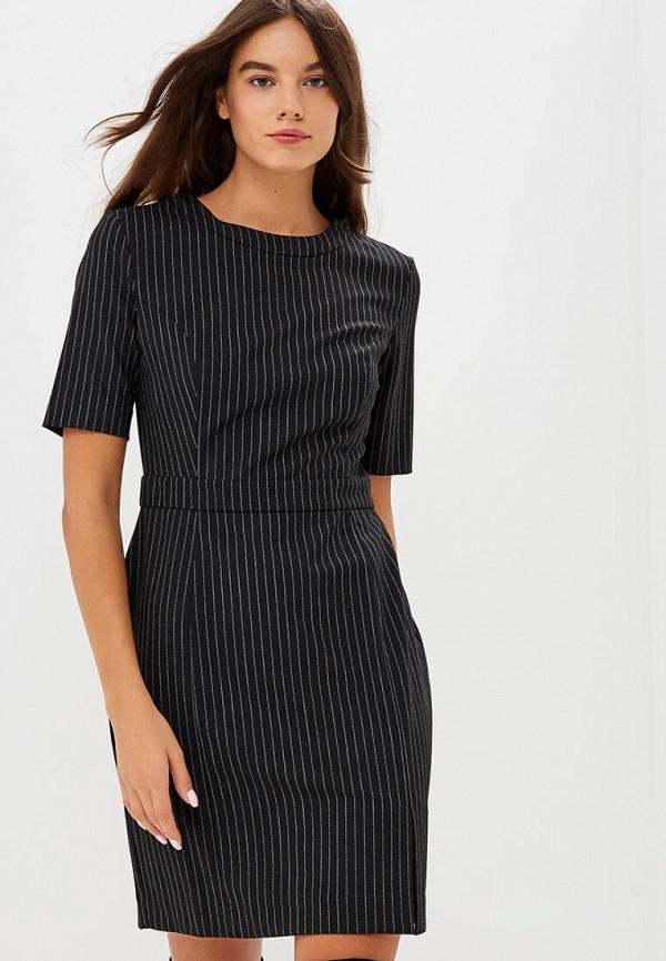 Купить Платье United Colors of Benetton, UN012EWBYLQ6, черный, Осень-зима 2018/2019