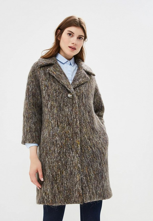 Купить Пальто United Colors of Benetton, UN012EWBYLT5, серый, Осень-зима 2018/2019