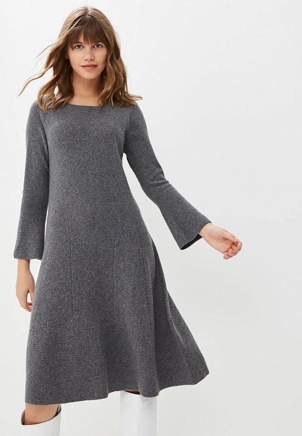 Купить Платье United Colors of Benetton, un012ewbynf1, серый, Осень-зима 2018/2019