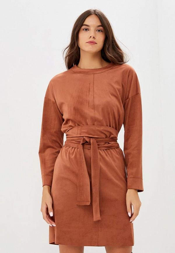 Купить Платье United Colors of Benetton, UN012EWBYNF5, коричневый, Осень-зима 2018/2019