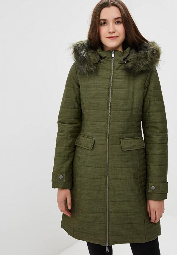 женская куртка united colors of benetton, хаки