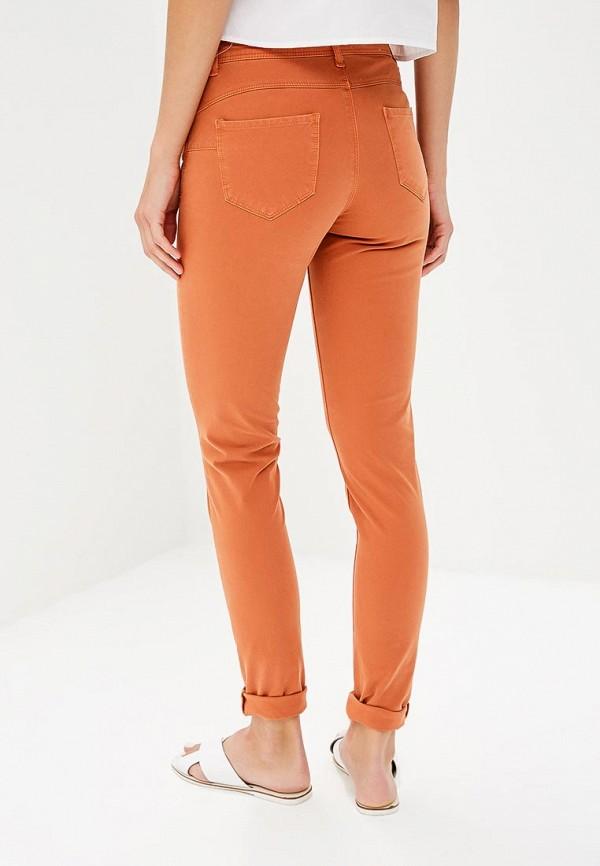 Фото 3 - женские брюки United Colors of Benetton оранжевого цвета