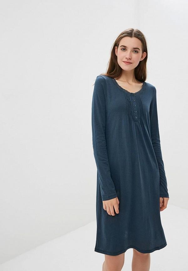 Купить Платье домашнее United Colors of Benetton, UN012EWCIXI8, синий, Осень-зима 2018/2019