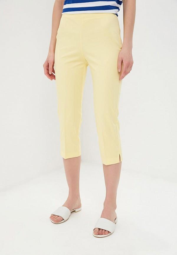 женские повседневные брюки united colors of benetton, желтые