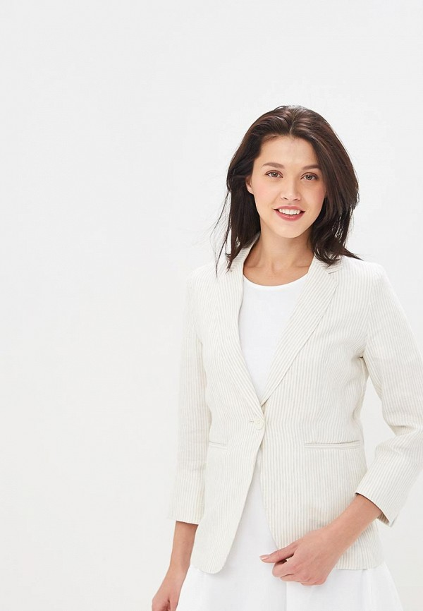 женский пиджак united colors of benetton, белый