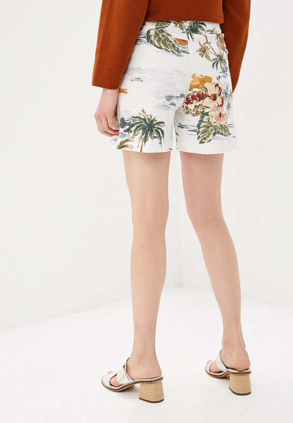 Фото 3 - женские шорты United Colors of Benetton белого цвета