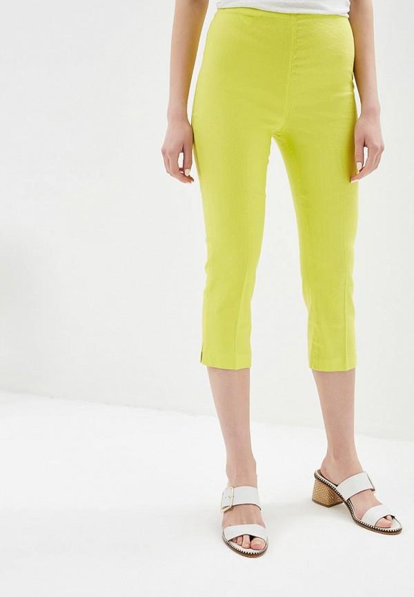 женские повседневные брюки united colors of benetton, зеленые