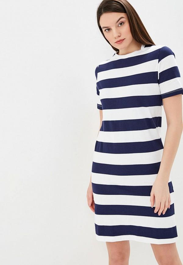 женское платье united colors of benetton, синее