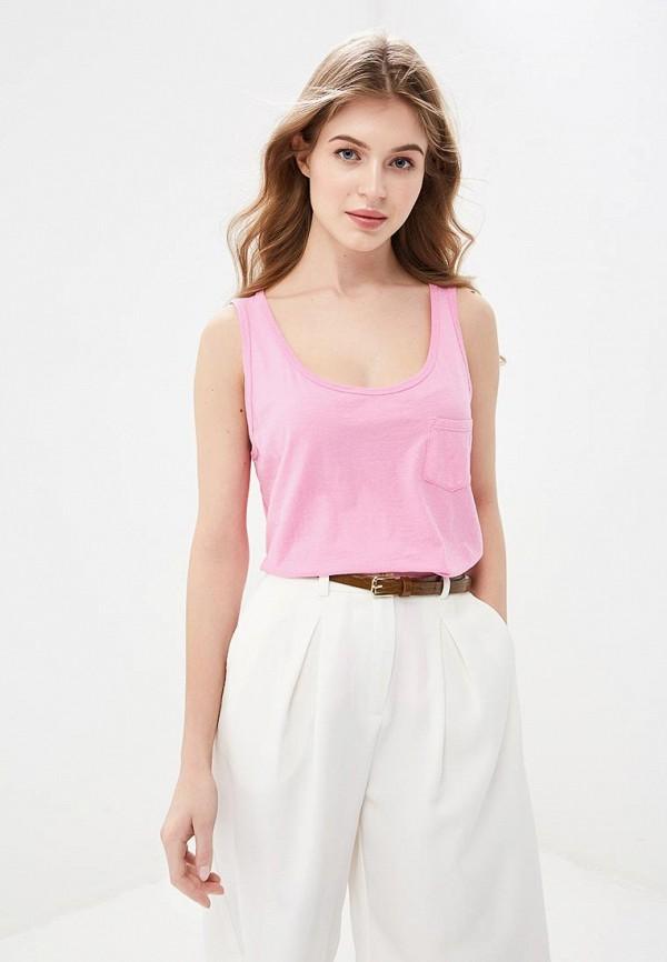 женская майка united colors of benetton, розовая