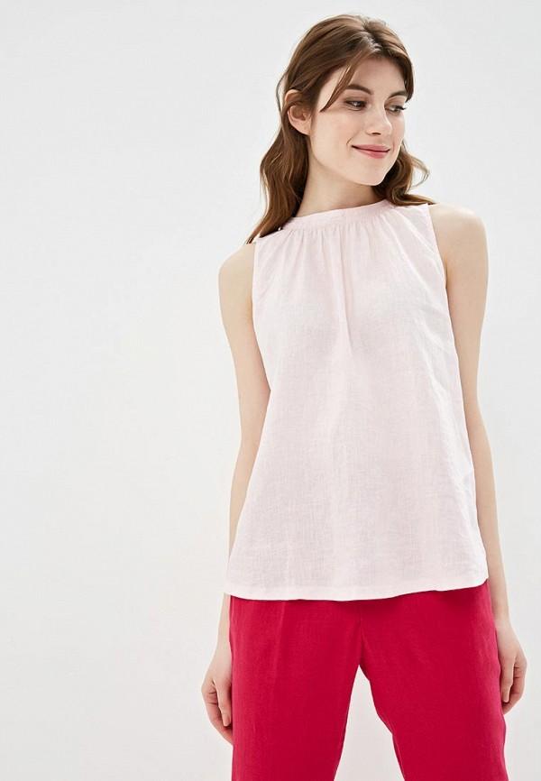 женский топ united colors of benetton, розовый