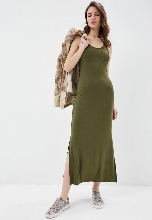 женское платье united colors of benetton, хаки