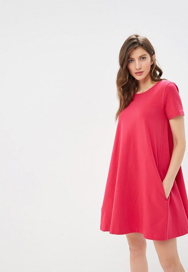 женское платье united colors of benetton, розовое