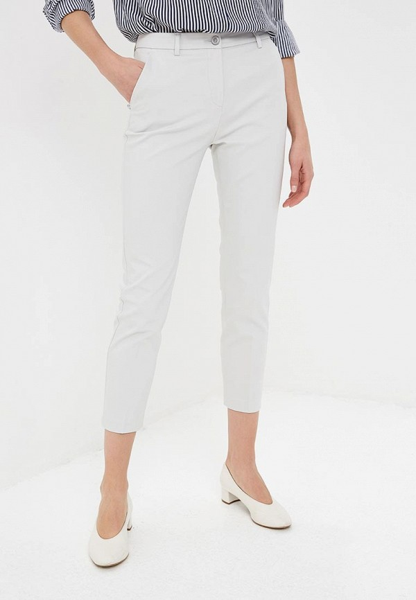 женские повседневные брюки united colors of benetton, серые