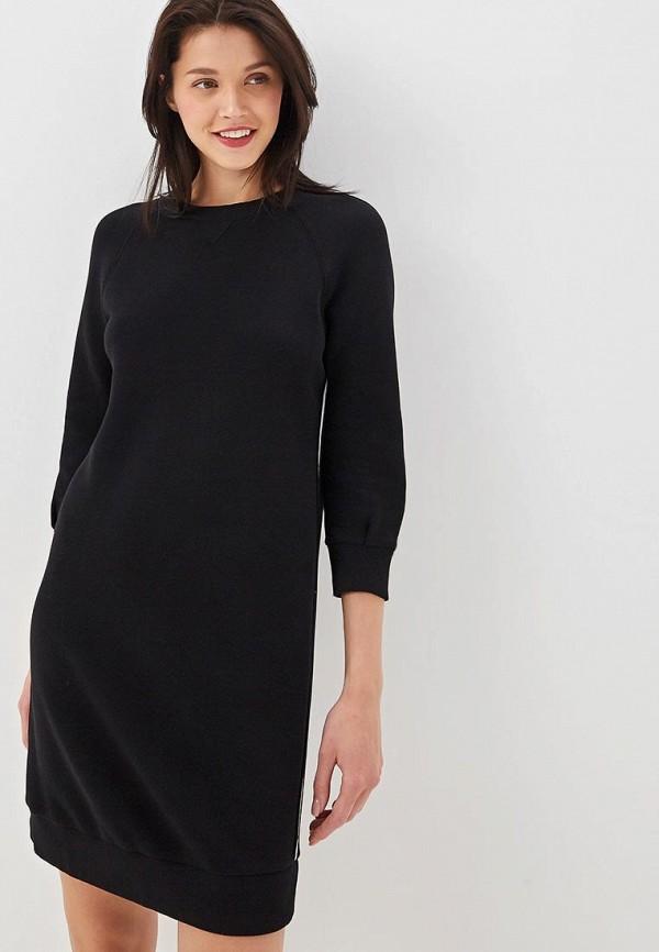 Платье United Colors of Benetton, un012ewfdii4, черный, Весна-лето 2019  - купить со скидкой