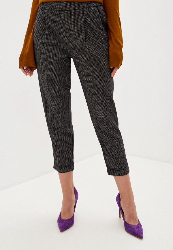 женские повседневные брюки united colors of benetton, черные