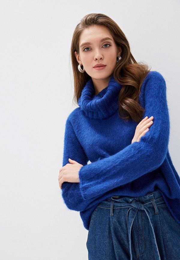 Фото - женский свитер United Colors of Benetton синего цвета