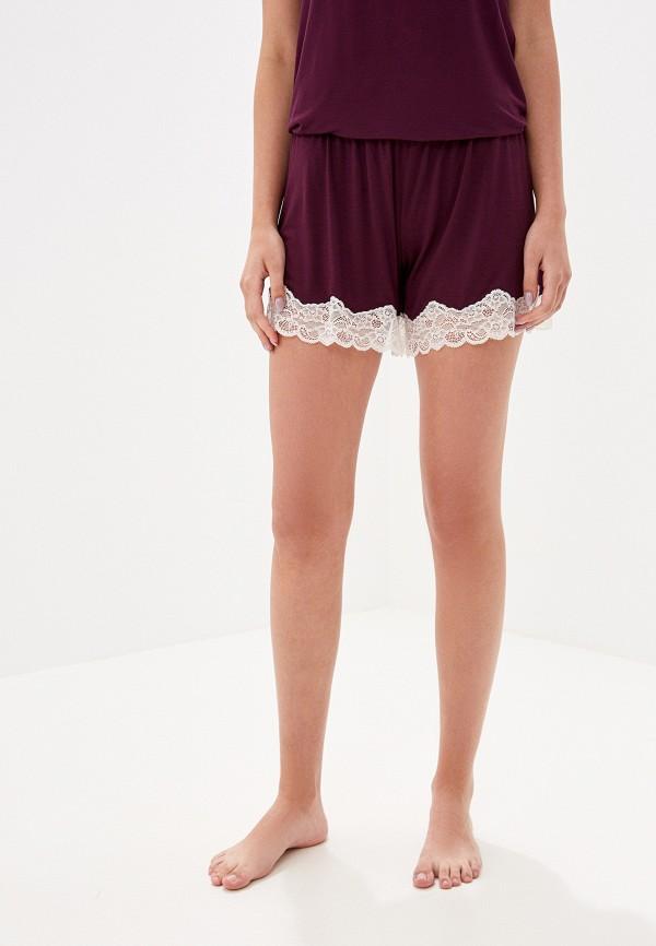 женские шорты united colors of benetton, фиолетовые