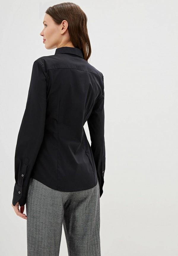 Фото 3 - женскую блузку United Colors of Benetton черного цвета
