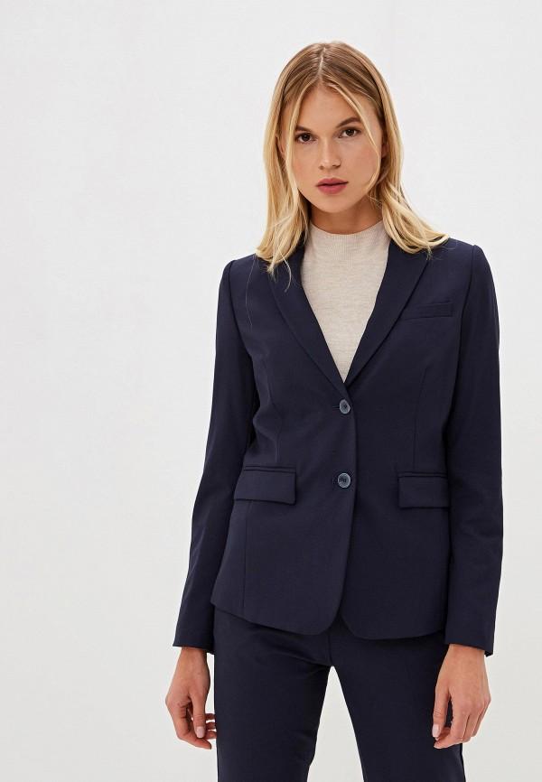 женский пиджак united colors of benetton, синий