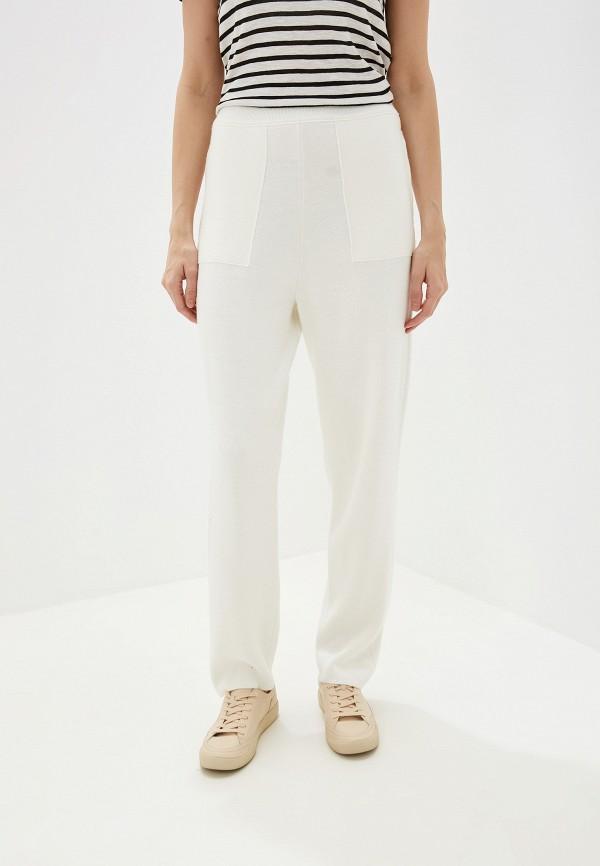 женские повседневные брюки united colors of benetton, белые