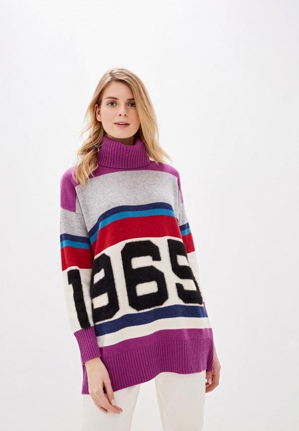 женский свитер united colors of benetton, разноцветный