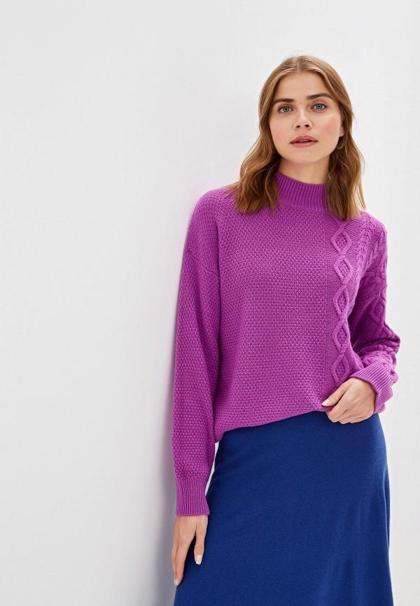 Фото - женский свитер United Colors of Benetton фиолетового цвета
