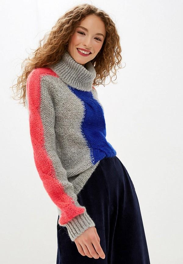 женский свитер united colors of benetton, серый