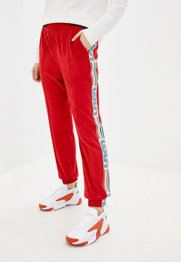 женские спортивные брюки united colors of benetton, красные