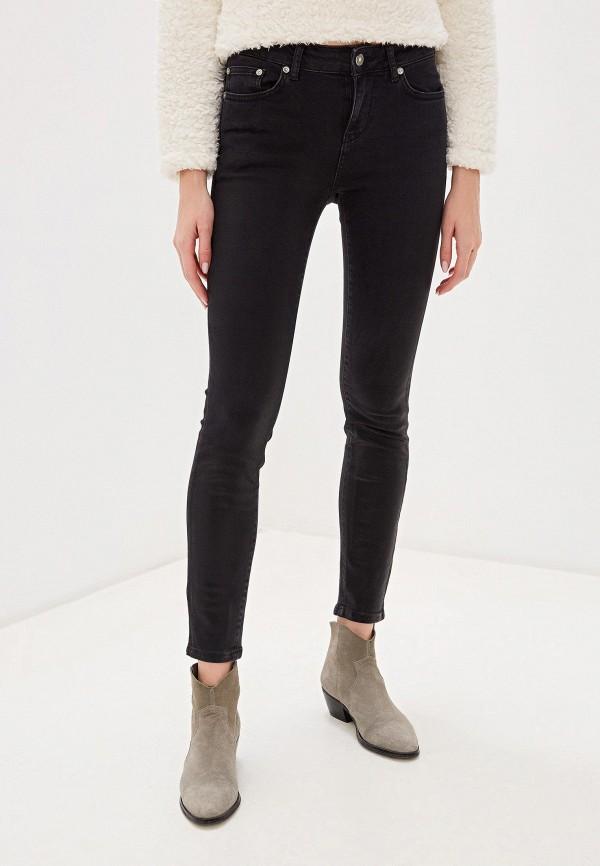 женские джинсы united colors of benetton, черные