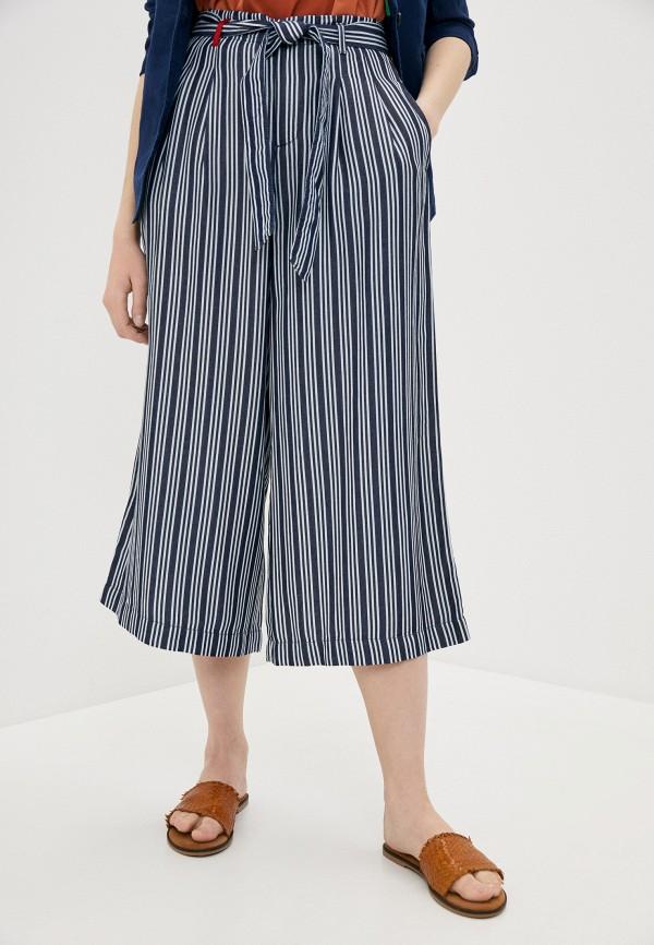 женские брюки united colors of benetton, синие