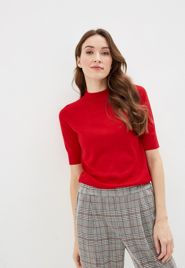 женский джемпер united colors of benetton, красный