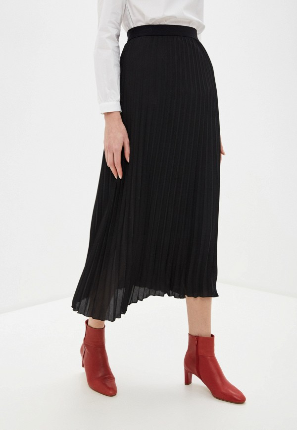 женская юбка united colors of benetton, черная