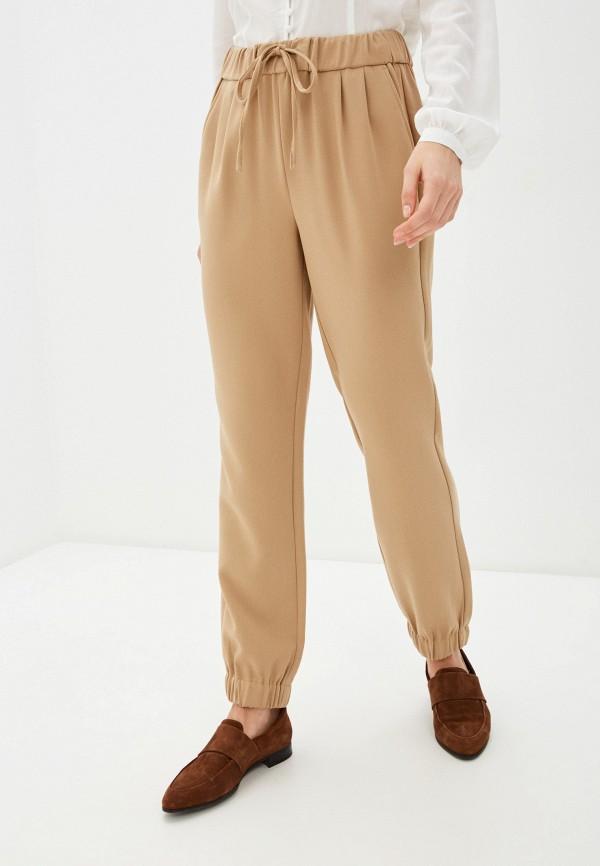 женские брюки united colors of benetton, бежевые
