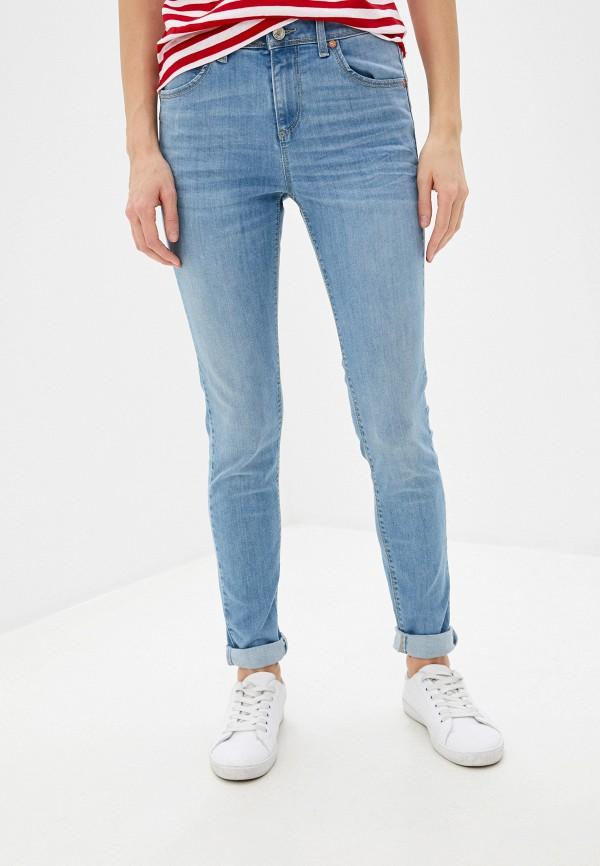 женские джинсы united colors of benetton, голубые