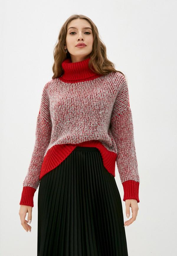 женский свитер united colors of benetton, красный