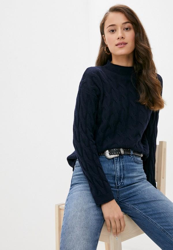 женский свитер united colors of benetton, синий
