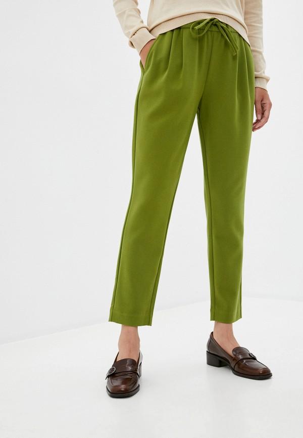 женские брюки united colors of benetton, зеленые