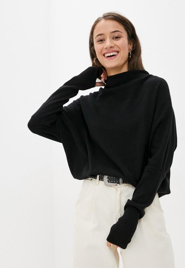 женский свитер united colors of benetton, черный
