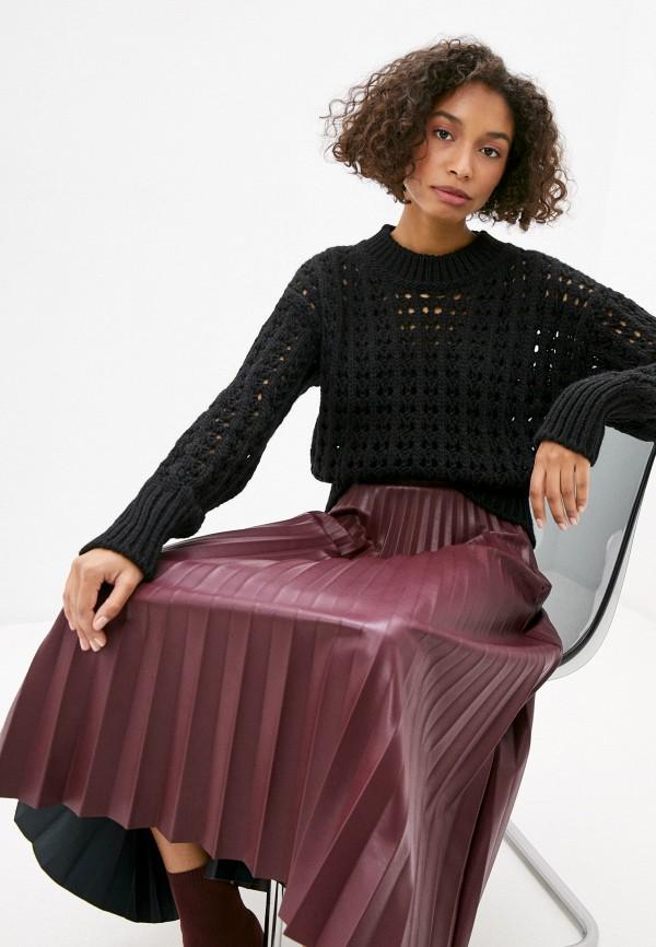 женский джемпер united colors of benetton, черный